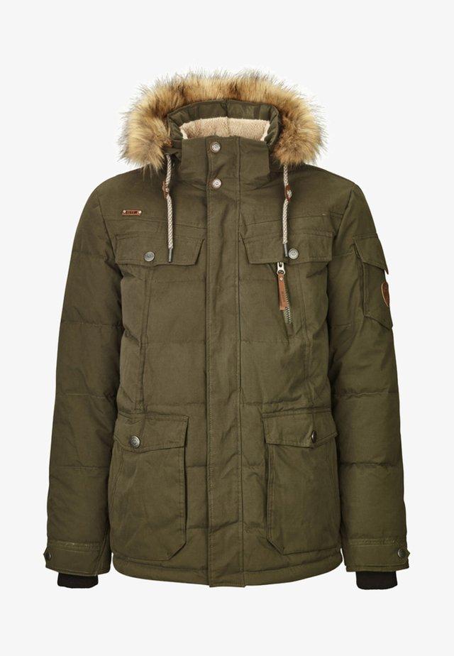 NAKUBO  - Winter jacket - olive brown