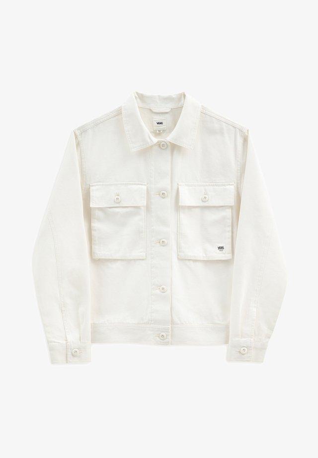 WM CLARK JACKET - Summer jacket - marshmallow