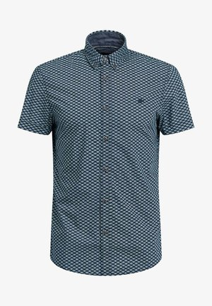 Shirt - blue/ black