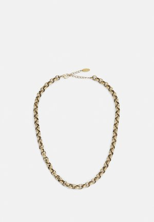ROUND LINK CHAIN - Naszyjnik - antique gold-coloured