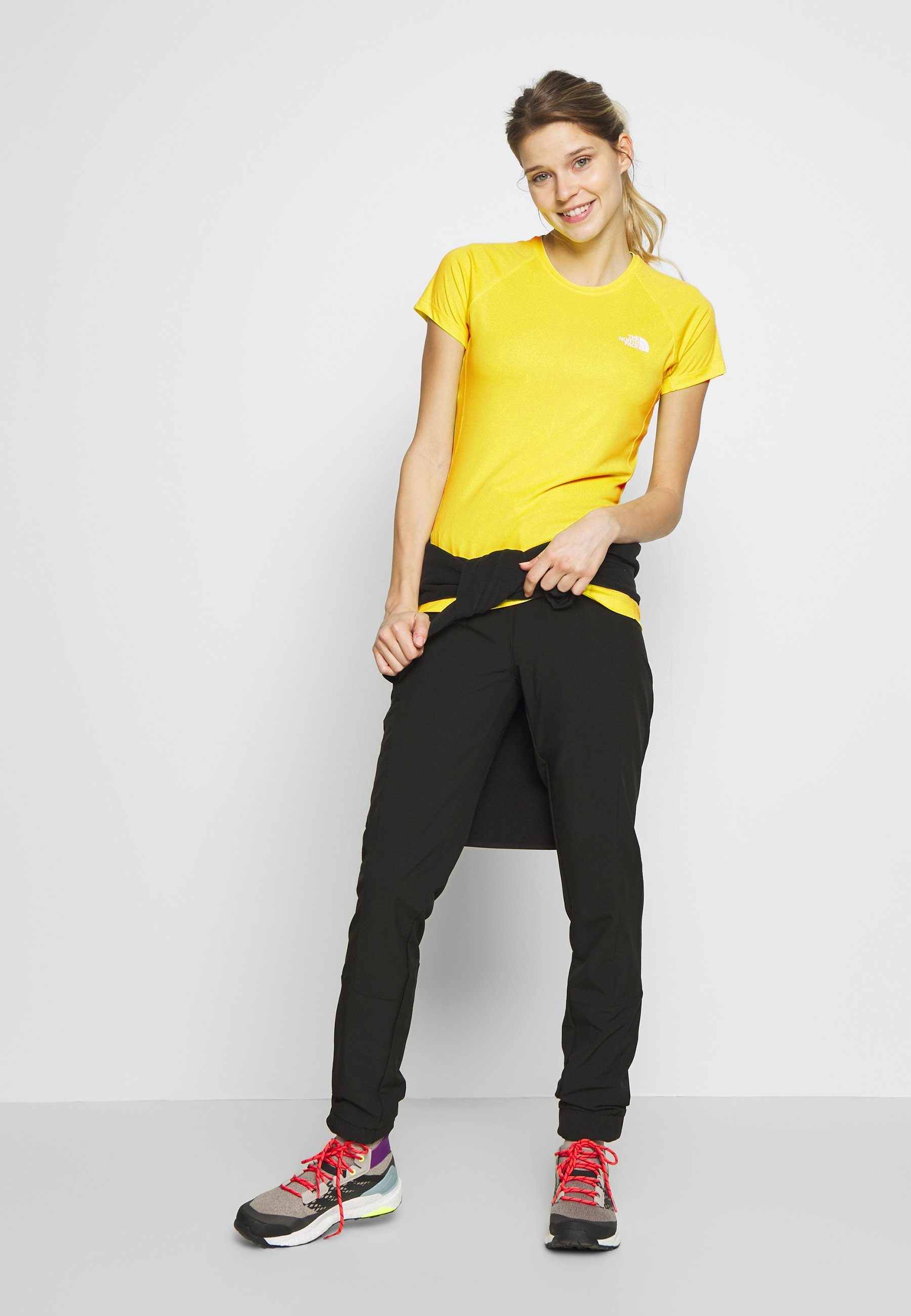 The North Face WOMENS FLEX TANK - Treningsskjorter - lemon