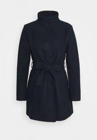 Vila - VICOOLEY NEW COAT - Zimní kabát - navy blazer - 4