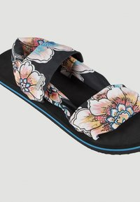 O'Neill - Sandals - black with red - 1