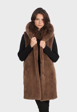 DAISY - Bodywarmer - brown