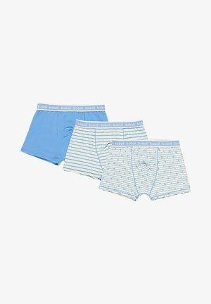 3 PACK - Pants - blueish