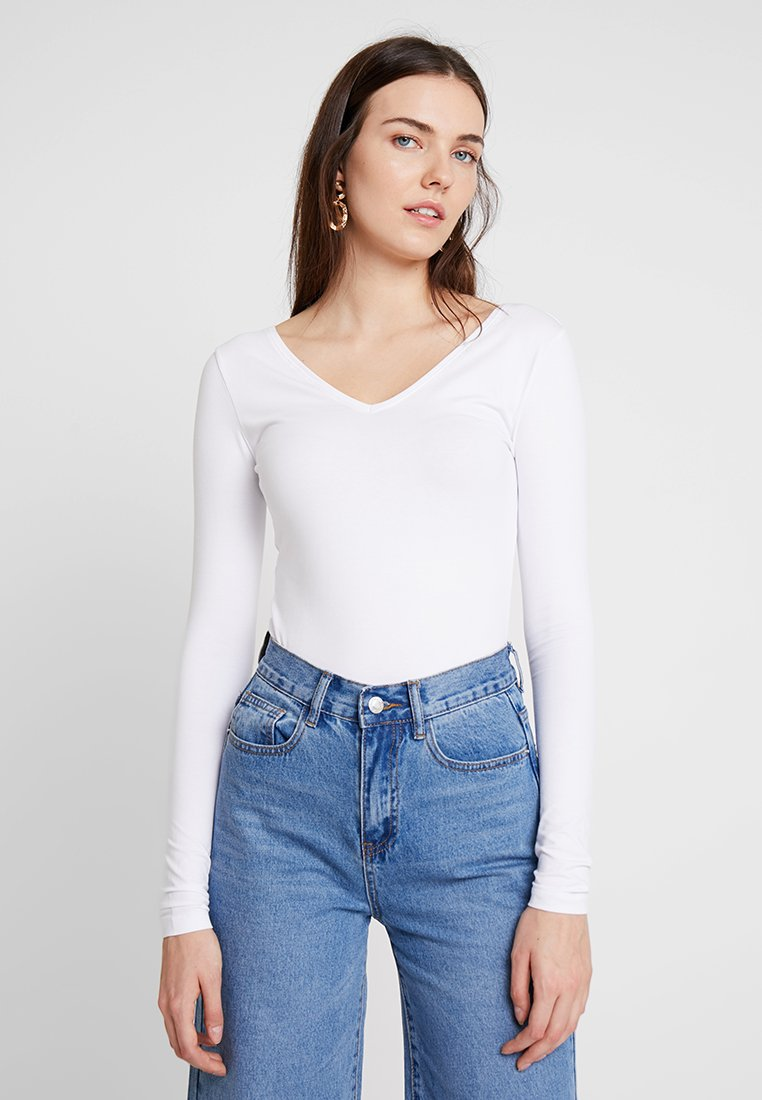 Zalando Essentials - Long sleeved top - white
