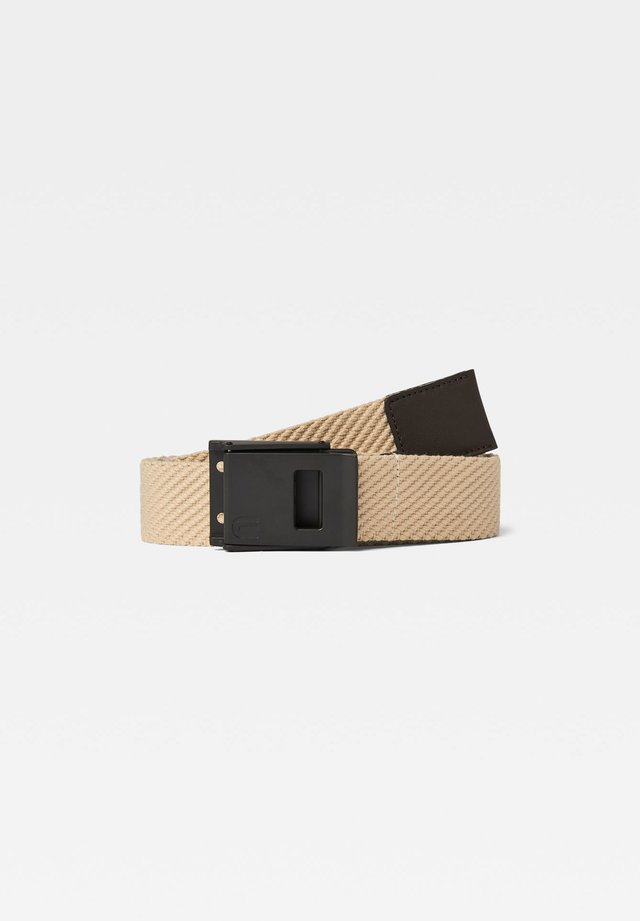 XEMY WEBBING - Belt - safari