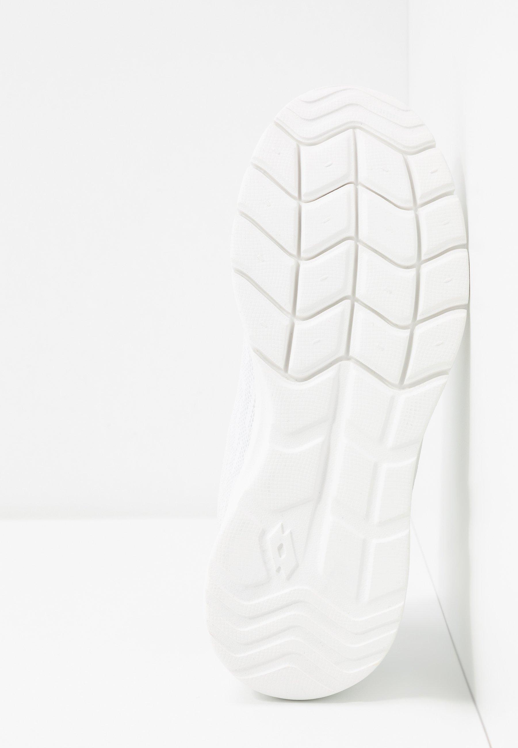 Lotto MEGALIGHT V Treningssko all whitesilver metal