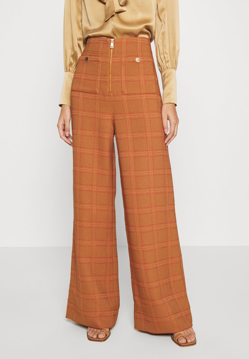 Alice McCall - DO RIGHT PANT - Kalhoty - tobacco