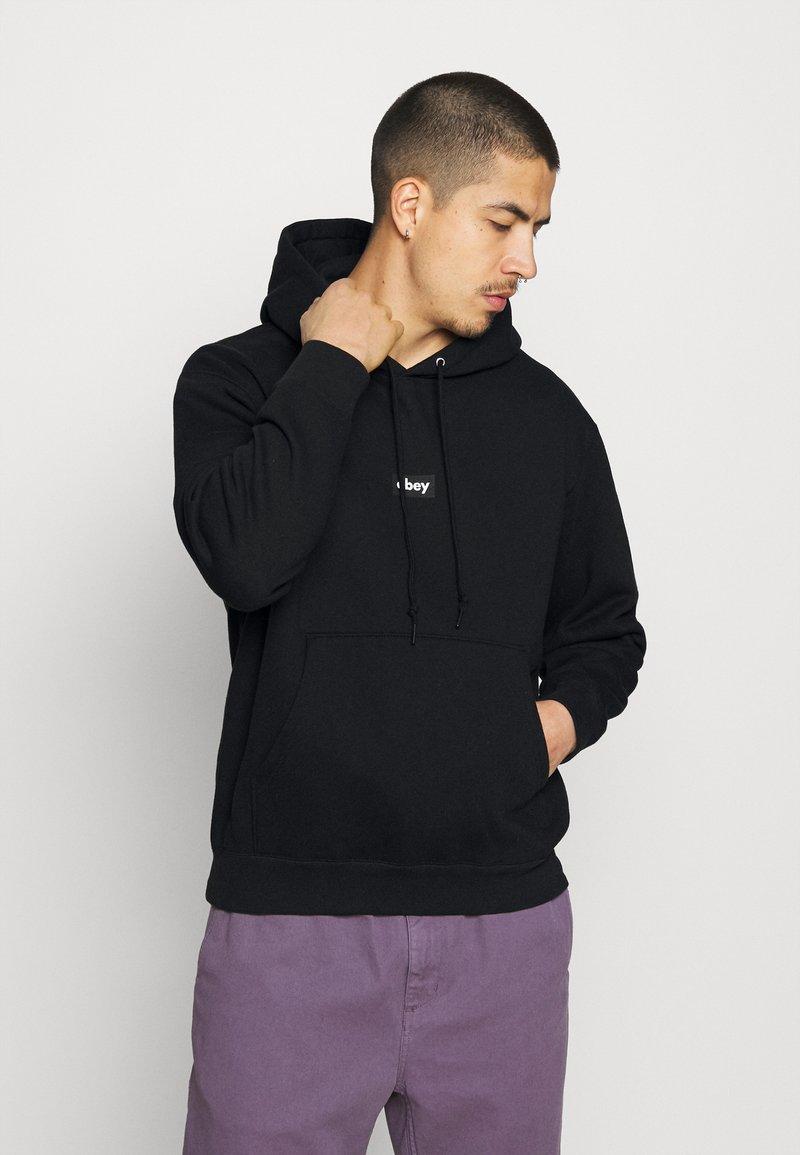 Obey Clothing - BAR - Collegepaita - black