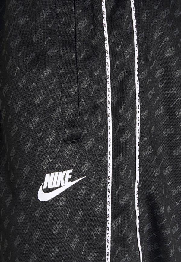 Nike Sportswear REPEAT - Spodnie treningowe - black/white/czarny Odzież Męska RPTF
