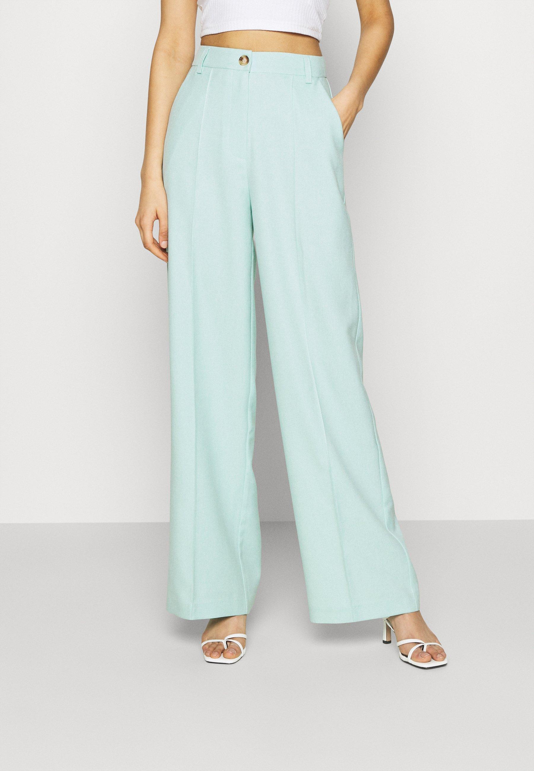 Donna WIDE SUIT PANTS - Pantaloni