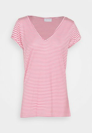 VISCOOP  - Basic T-shirt - wild rose/optical snow