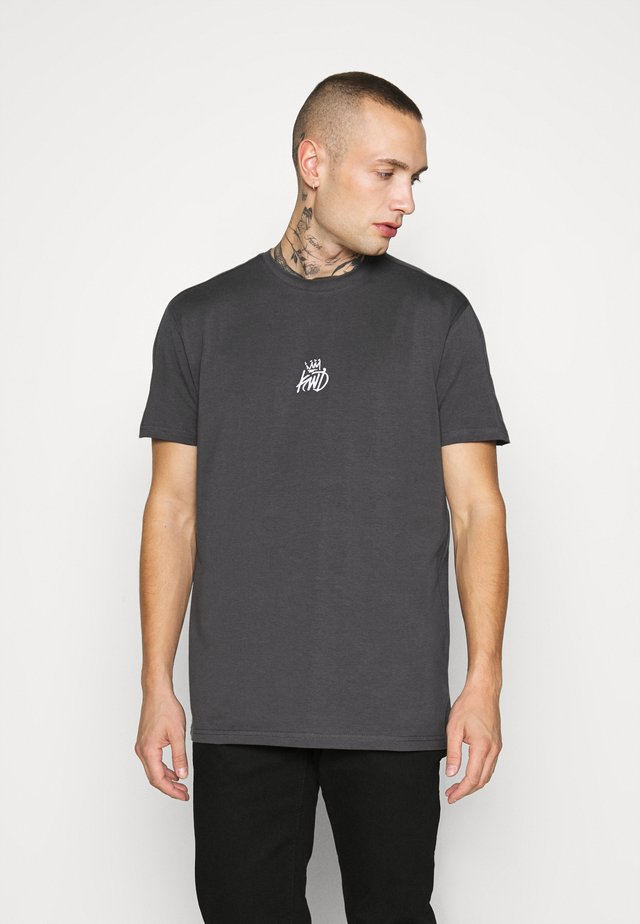 CARRON TEE - T-shirt con stampa - charcoal