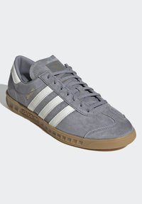 adidas Originals - HAMBURG TERRACE - Trainers - grey core black gum - 3