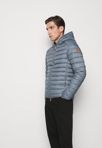 Save the duck - GIGAY - Down jacket - steel blue - 4