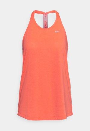 DRY ELASTIKA TANK - Camiseta de deporte - bright mango/white
