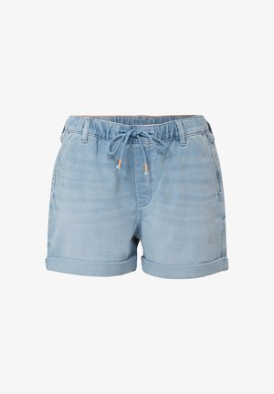 Denim shorts - blue light wash