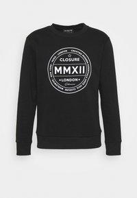 LOGO EMBLEM CREWNECK - Sweatshirt - black