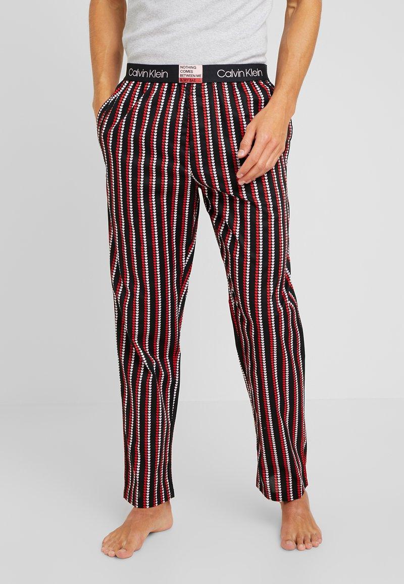 Calvin Klein Underwear - VALENTINE'S DAY SLEEP PANT - Pantalón de pijama - black