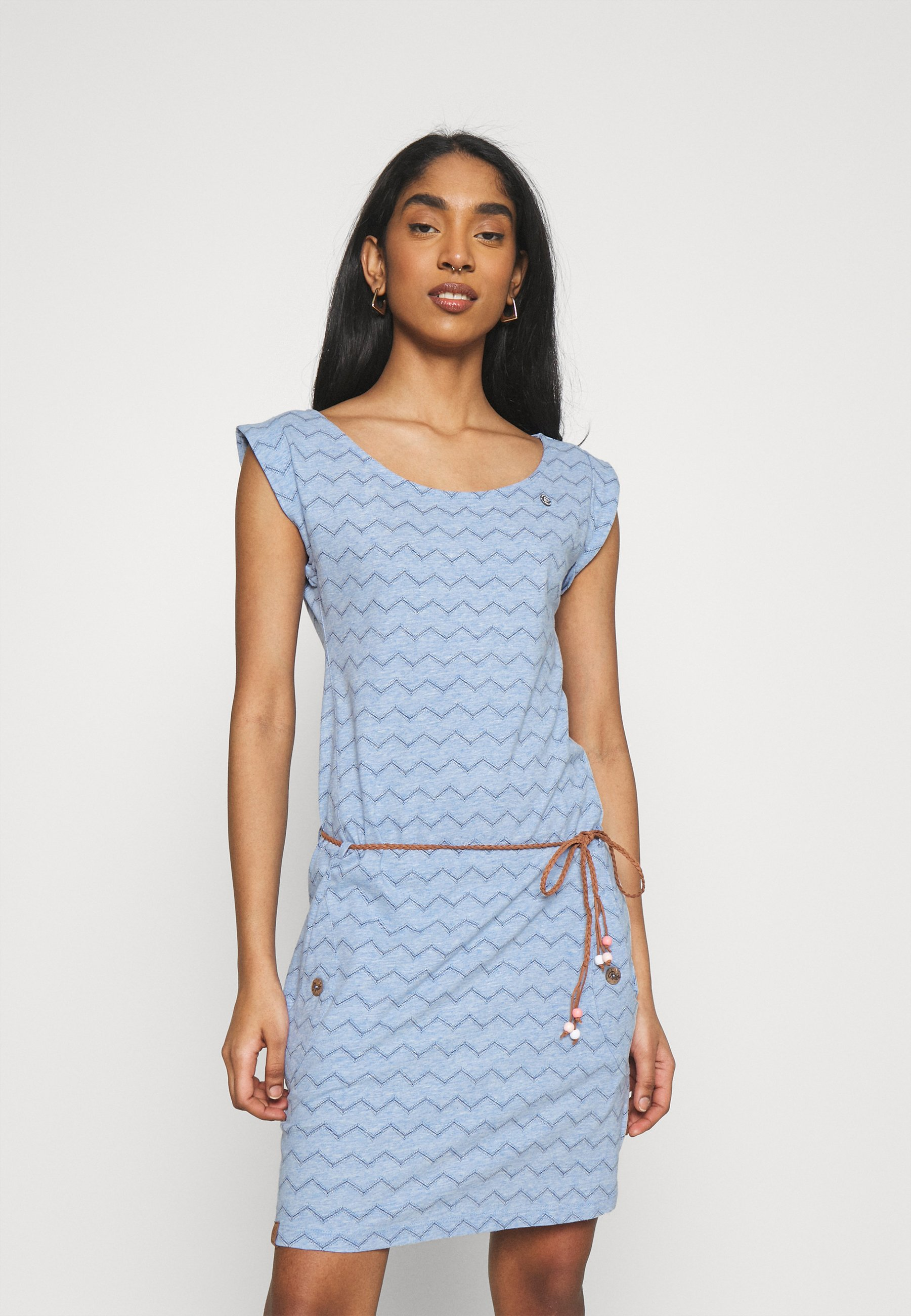 Women TAG CHEVRON - Jersey dress