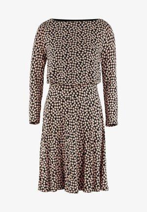 NELLIE  - Jersey dress - schwarz blasen