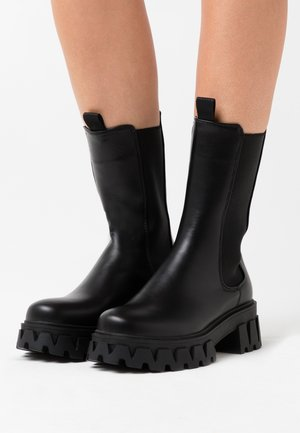 VEGAN SENTRY - Platform-saappaat - black