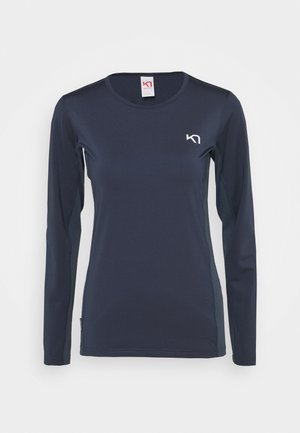 NORA - Long sleeved top - marin
