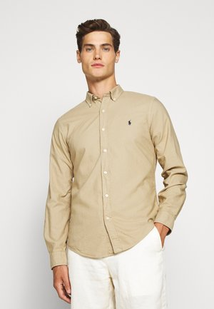 LONG SLEEVE SPORT - Koszula - surrey tan