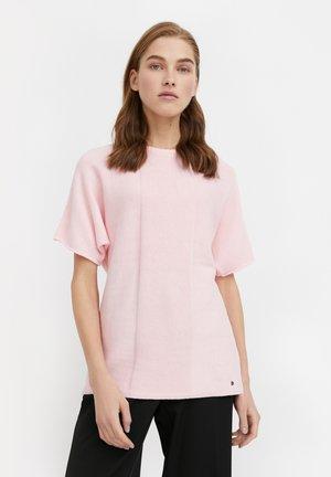 RUNDHALS - Print T-shirt - pink