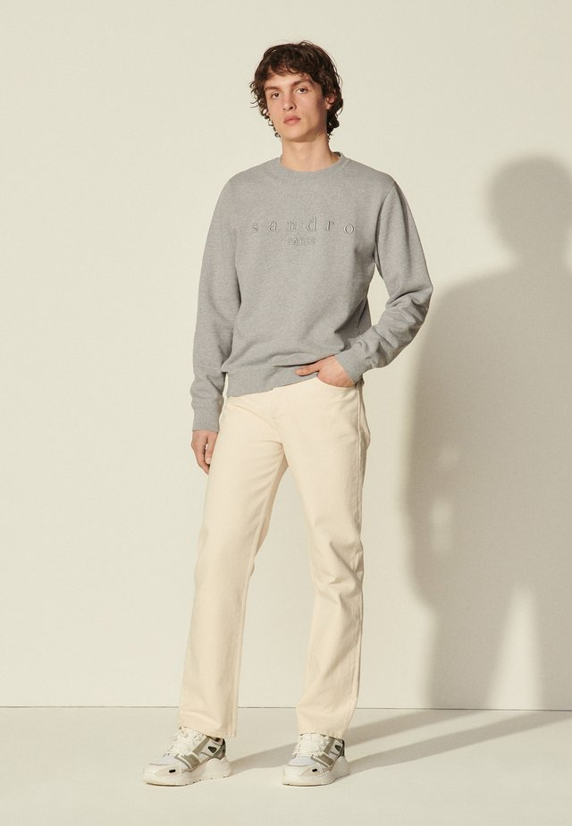 CREW  - Sweatshirt - gris chiné