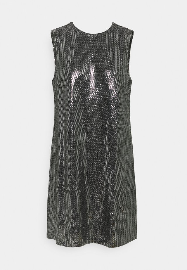 YASTULAH SEQUIN DRESS - Cocktail dress / Party dress - silver colour