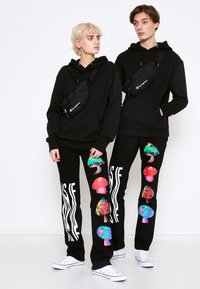 AS IF Clothing - PSYCHO PANTS UNISEX - Jeans baggy - denim - 3