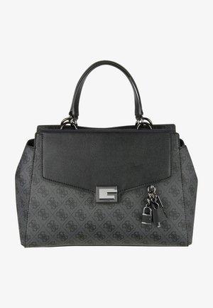 HANDBAG VALY LARGE GIRLFRIEND SATCHEL - Handbag - coal