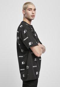 Starter - T-shirt imprimé - black - 3