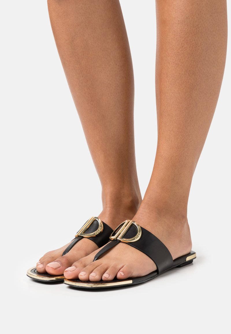 DKNY - HALCOTT - T-bar sandals - black