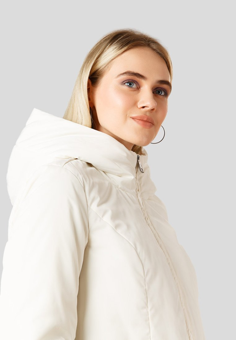 Damen MIT FEMININEM BINDEBAND - Wintermantel