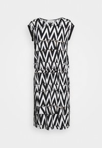 Cartoon - Sukienka z dżerseju - white/black - 4