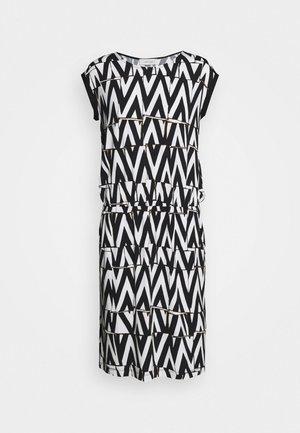 Vestito di maglina - white/black