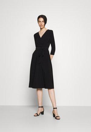MID WEIGHT DRESS - Jerseyjurk - black