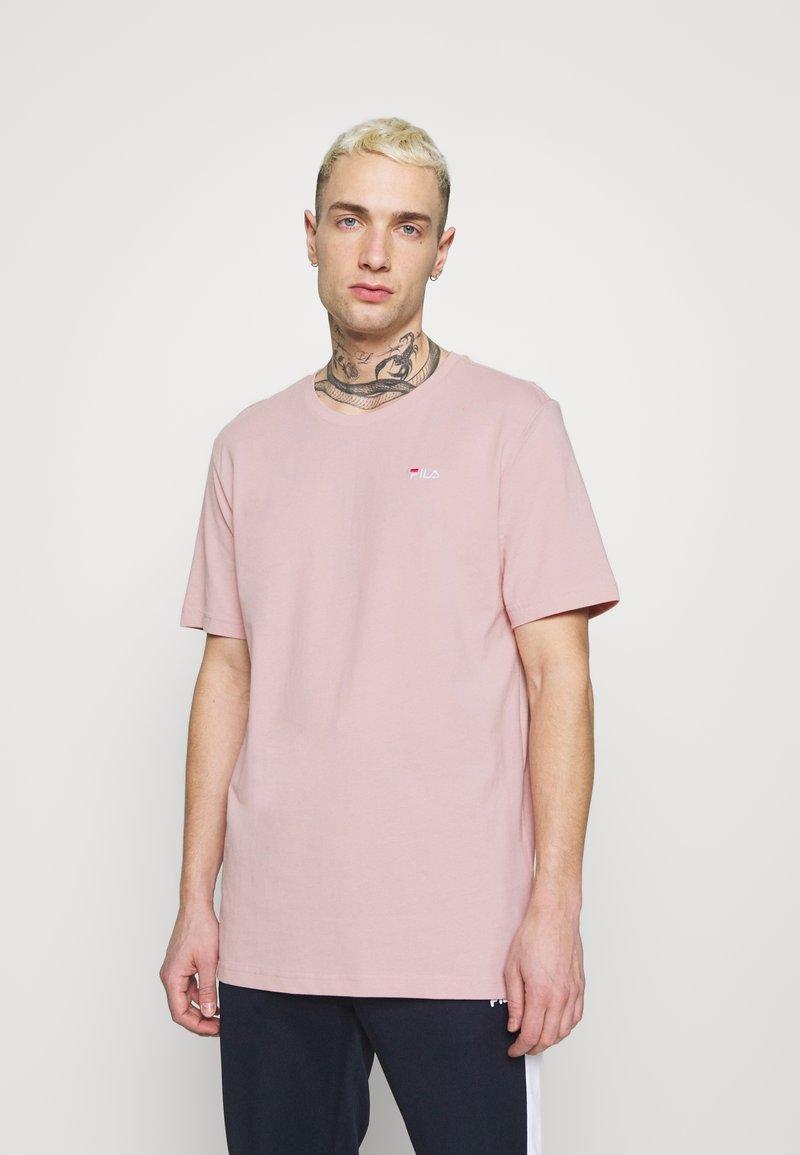 Fila - UNWIND TEE - Camiseta básica - pale mauve