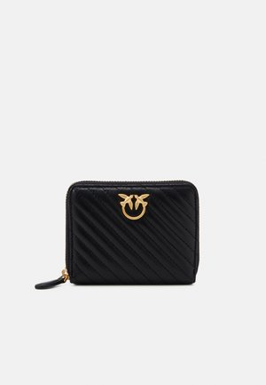 TAYLOR WALLET ZIP AROUND - Portfel - black