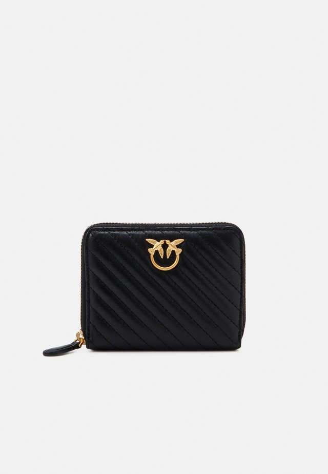TAYLOR WALLET ZIP AROUND - Monedero - black