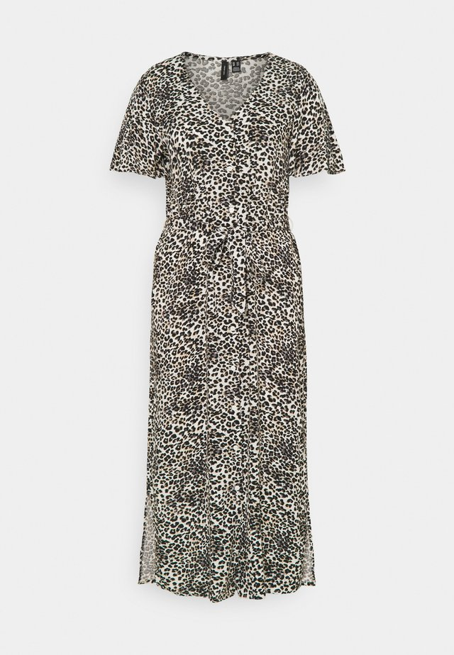 VMSIMPLY EASY CALF SHIRT DRESS - Shirt dress - birch/agnes