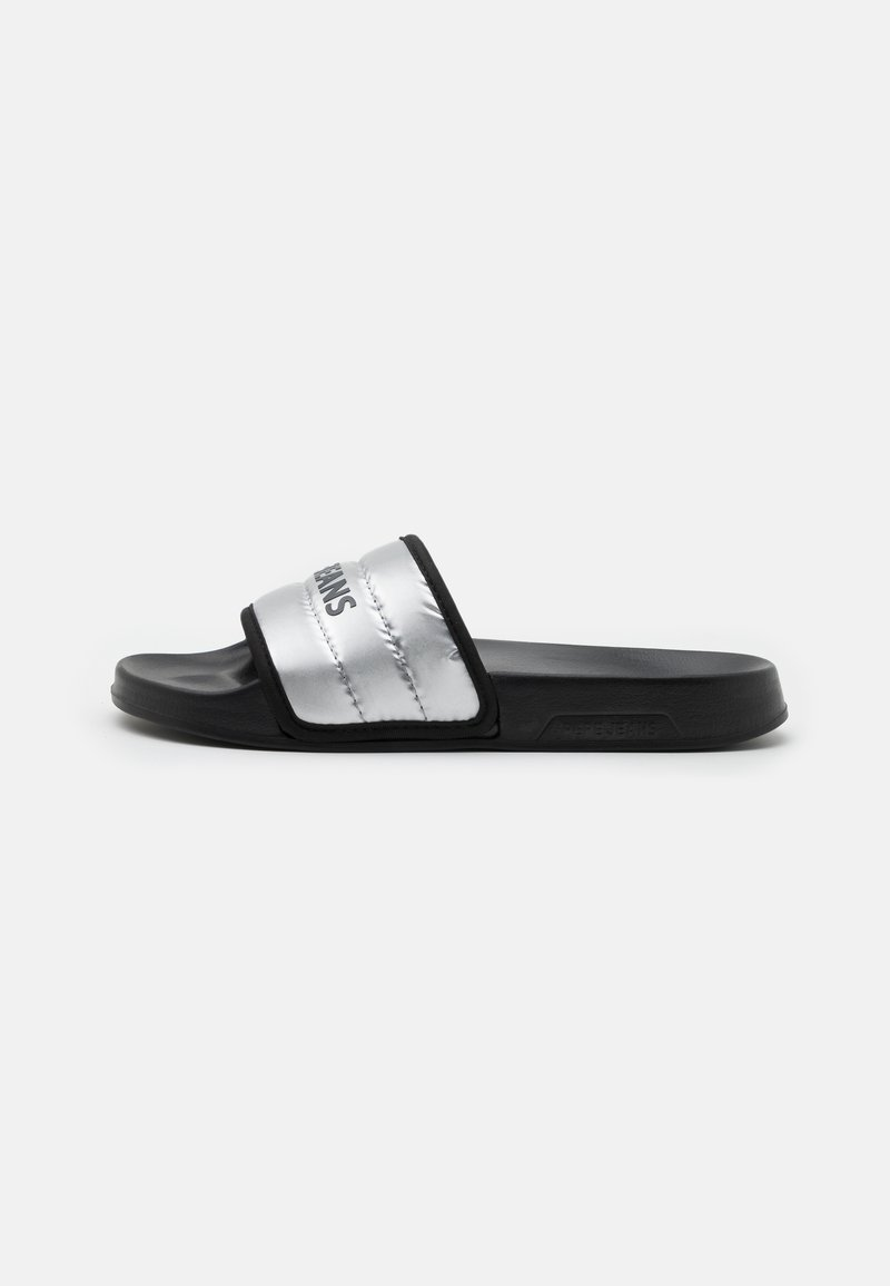 Pepe Jeans - SLIDER - Mules - silver