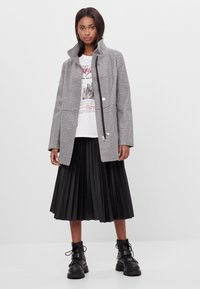 Bershka - Short coat - light grey - 1