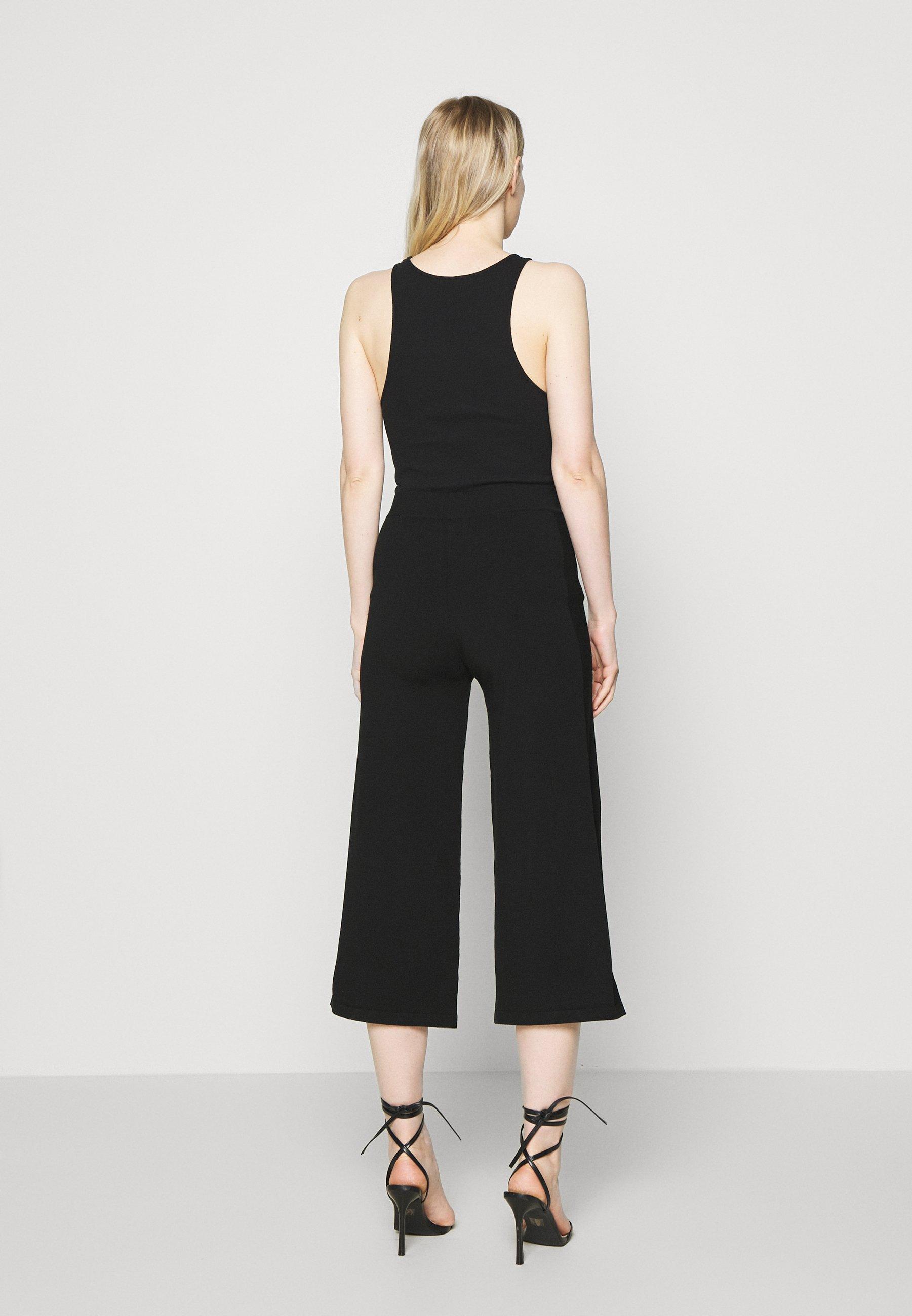 Marc O'Polo PURE HEAVY PANT - Pantalon classique - pure black - Pantalons & Leggings Femme 89Z1H