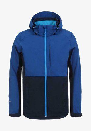 Soft shell jacket - blau