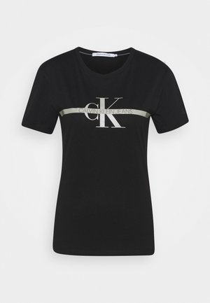 MONOGRAM TEE - T-Shirt print - black