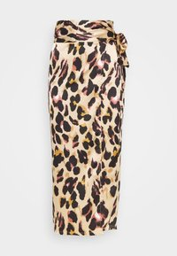 Never Fully Dressed Tall - ARTIST PRINT JASPRE SKIRT - Wrap skirt - brown - 3